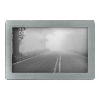 Foggy road rectangular belt buckles