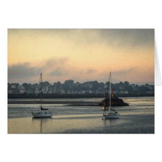 Foggy Sunrise Card