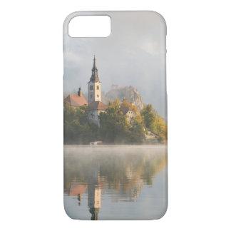 Foggy sunrise Lake Bled iPhone 7 case