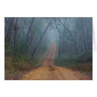 Foggy Trail Card