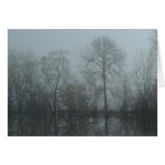 Foggy Trees Card