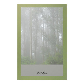Foggy Trees Stationery