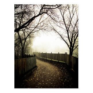 Foggy Waterfront 01 Postcard