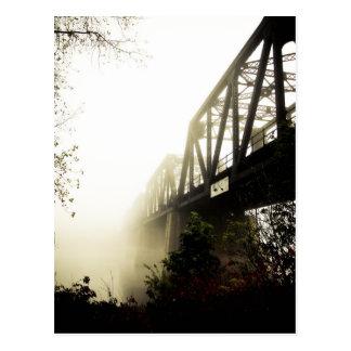 Foggy Waterfront 13 Postcard