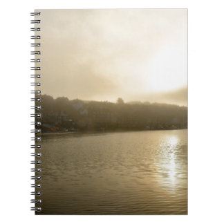 Foggy Whitby morning Notebooks