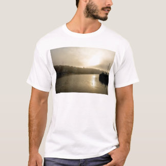 Foggy Whitby morning T-Shirt