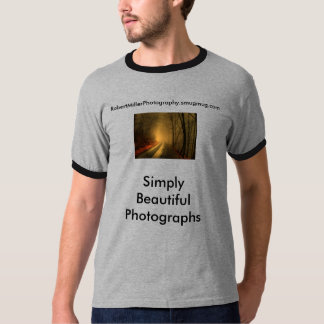 foggy wood, Simply Beautiful Photographs, Rober... T-Shirt
