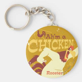 Foghorn Ah'm a chicken Keychain