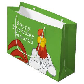 Foghorn Leghorn | Mischievous Stare Large Gift Bag