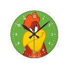 Foghorn Leghorn | Mischievous Stare Round Clock