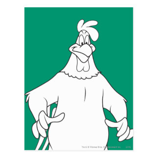 Foghorn Leghorn Standing Pose Postcard