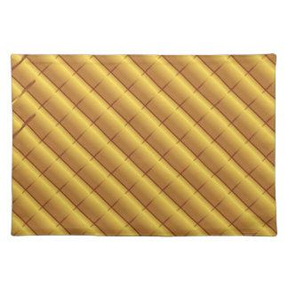 foil pattern placemat