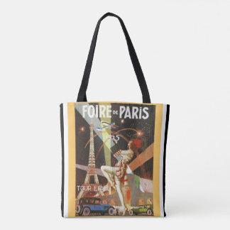 Foire De Paris Art Deco Tote