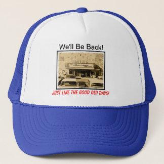 "FOIT Hat ""We'll Be Back!"""