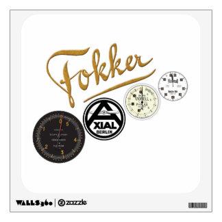 fokker Dr1 Logo Collection Sticker
