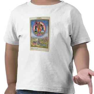 Fol.7v The Planet Mars, from 'De Sphaera', 1470 T-shirt
