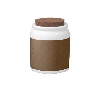 Folaige print candy jar