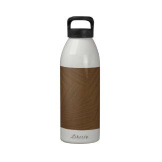 Folaige print drinking bottle