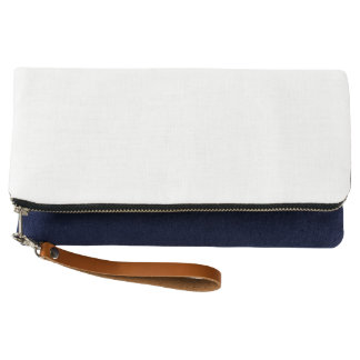Fold-over Clutch, Indigo Clutch