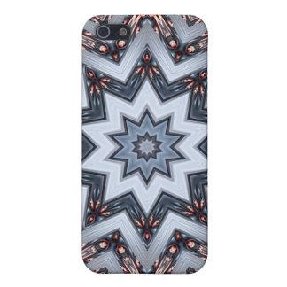 Folded Angles Mandala iPhone 4 Case