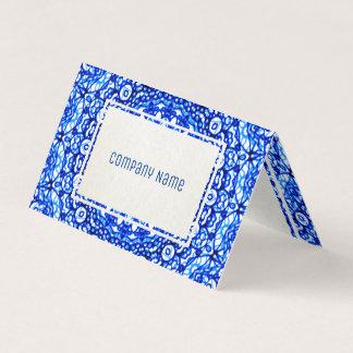 Folded Business Card Mandala Mehndi Style G403