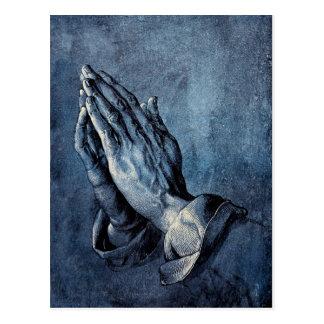 Folded Hands Prayer - Durer Postcard