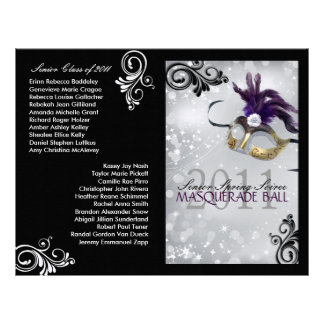 Folded Masquerade - Booklet Cover Letterhead