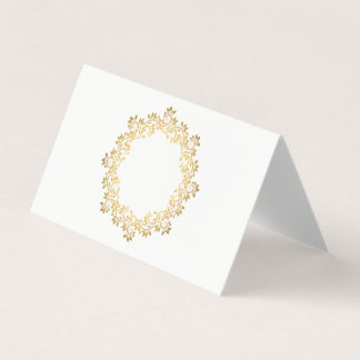 Folded Name Place Card