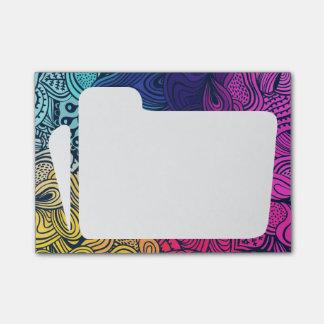 Folder Icons Minimal Post-it Notes