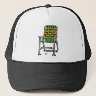 Folding Lawn Chair Trucker Hat