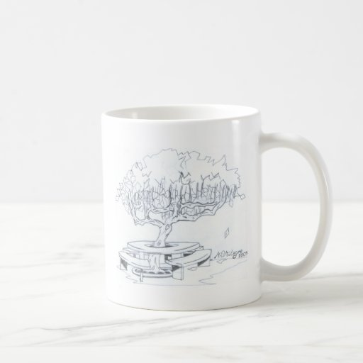 foldings seat of arvore of the ecological preserva mugs