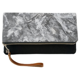 """Foldover - Clutch purse - """"In the Shadows"""""""