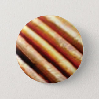 folds of copper 2 inch round button