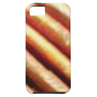 folds of copper iPhone 5 case