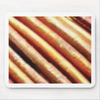folds of copper mouse pad