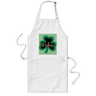 Foley Family Name Long Apron