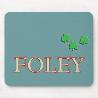Foley Family Name Mouse Pad
