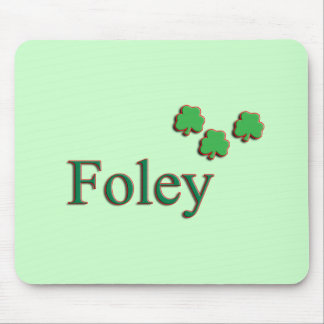 Foley Family Name Mousepads