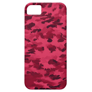 Foliage Abstract Pop Art Blush Red iPhone 5 Cover