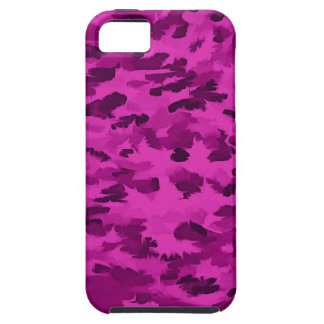 Foliage Abstract  Pop Art Violet Case For The iPhone 5