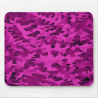 Foliage Abstract  Pop Art Violet Mouse Pad