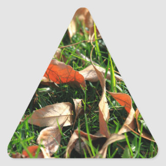 Foliage and Grass Triangle Stickers