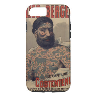 Folies-Bergère Captain Costentenus Poster Case-Mate iPhone Case