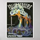 Folies Bergère French cabaret Poster