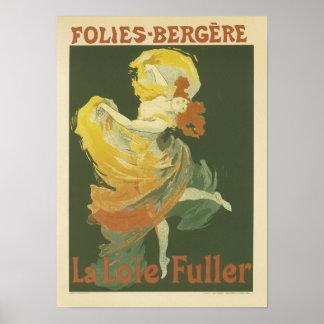 Folies-Bergere, Jules Cheret Poster