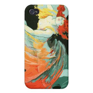Folies-Bergère La Loie Fuller, Jules Chéret iPhone 4 Cases