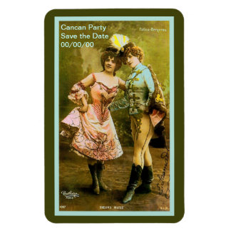 Folies Bergere Save the Date Magnet