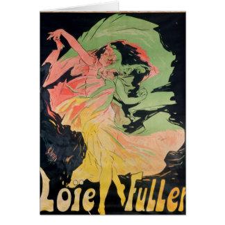 Folies Bergeres: Loie Fuller, France Card