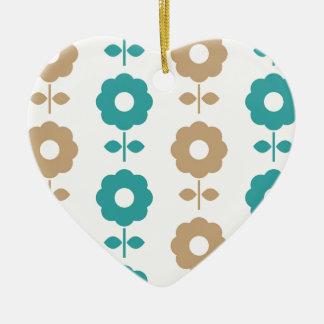 Folk amazing Creative flowers Ceramic Ornament