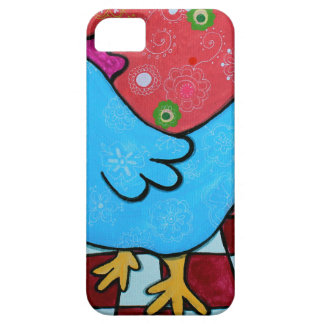 FOLK ART AMERICANA ROOSTER iPhone 5 COVERS